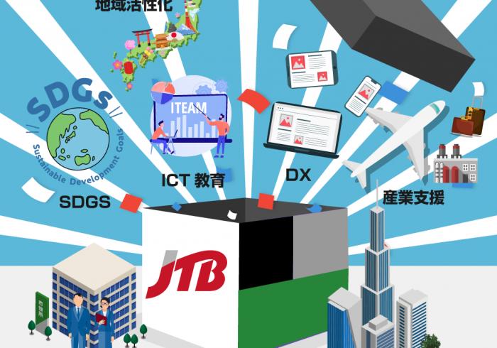 日本をDXで元気にする政策支援プラットフォームを 生み出す。官公庁や地方公共団体などの政策⽀援に特化したJTB霞が関事業部様にお話を伺いました。
